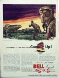 bell aircraft corp 1942 headaches for hitler ww2 vintage ad