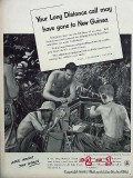 bell telephone system 1944 army signal corps switchboard vintage ad