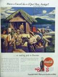 coca cola 1944 ww2 wwii panama soldiers coke vintage ad