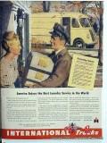 international trucks 1945 delivery truck vintage ad
