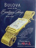 bulova watches 1946 excellency group 21 jewels watch vintage ad