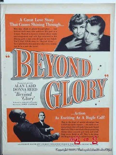 beyond glory 1948 alan ladd donna reed movie vintage ad