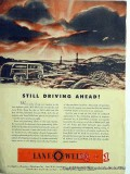 Lane-Wells Company 1951 Vintage Ad Oil Field Drilling Driving Ahead