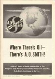 A O Smith Corp 1951 Vintage Ad Oil Well Petroleum Drilling Equipment