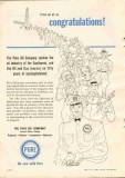 Pure Oil Company 1951 Vintage Ad Oil Gas Spindletop Petroleum