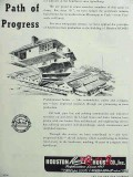 houston ready cut house 1951 oil gas workers housing vintage ad