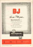 Byron Jackson Company 1951 Vintage Ad Oil Field Spindletop 79th Year
