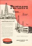 Larkin Packer Company 1951 Vintage Ad Oil Field Petroleum Partners Now