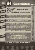 A-1 Bit Tool Company 1951 Vintage Ad Oil Well Drilling Rig Petroleum
