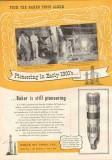 Baker Oil Tools Inc 1951 Vintage Ad Still Pioneering Gas Well Drilling