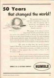 Humble Oil Refining Company 1951 Vintage Ad Petroleum Changed World