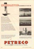 Petroleum Rectifying Company 1951 Vintage Ad Oil Spindletop Beginning