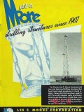 Lee C Moore Corp 1951 Vintage Ad Oil Field Drilling Structure Derrick