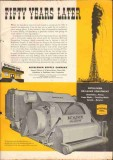 Bethlehem Supply Company 1951 Vintage Ad Oil Drilling 50 Years Later