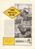Christensen Diamond Products Company 1959 Vintage Ad Oil Cores Proof