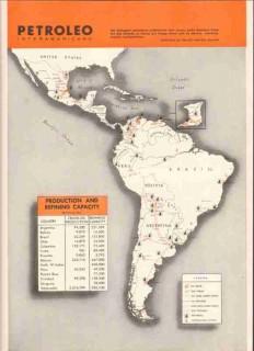Petroleo Interamericano 1959 Vintage Ad Oil Petroleum Refining Media