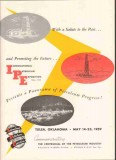 International Petroleum Exposition 1959 Vintage Ad Oil Future Progress