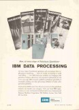 International Business Machines 1959 Vintage Ad Oil Data Processing