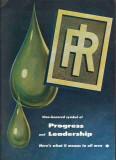 Ingersoll-Rand 1959 Vintage Ad Oil Field Well Pump Compressor Progress