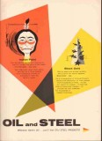 Colorado Fuel Iron Corp 1959 Vintage Ad Oil Steel Indian Black Gold