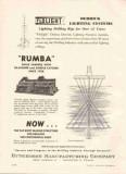 Hutchison Mfg Company 1959 Vintage Ad Oil Drilling Rig Lighting System