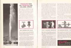 Cameron Iron Works 1959 Vintage Ad Oil Field Pressure No Problem Drake