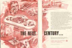 Lane-Wells Company 1959 Vintage Ad Oil Field Petroleum Next Century