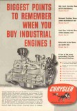 Chrysler Corp 1951 Vintage Ad Industrial Engine Oil Gas Biggest Points