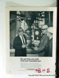 American Cyanamid Company 1965 Vintage Ad Oil Refinery Chemical