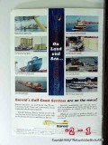 National Lead Company 1965 Vintage Ad Oil Baroid Gulf Coast Service