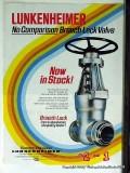 Conval Corp 1977 Vintage Ad Oil Breech Lock Valve Lunkenheimer