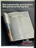 Brown Root Inc 1977 Vintage Ad Oil Concern For Your Bottom Line