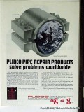 Pipe Line Development Company 1977 Vintage Ad Oil Gas Repair Products