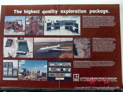 Litton Resources Group 1977 Vintage Ad Oil Exploration Highest Quality