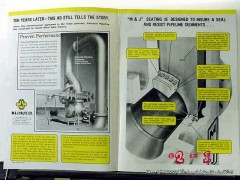 M J Valve Company 1977 Vintage Ad Oil Seating Designed Insure Seal
