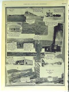 Ira G Yates Ranch 1928 Vintage Pictorial Crane City San Angelo Texas