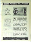 Lee C Moore Company 1928 Vintage Ad Oil Field Pumping Bull Wheel