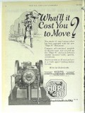 Hope Engineering Supply Company 1928 Vintage Ad Oil Gas Booster Move
