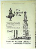 Penberthy Injector Company 1928 Vintage Ad Oil Field Logical Unit