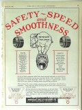 American Roller Bearing Co 1928 Vintage Ad Oil Safety Speed Smoothness