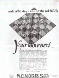 Central Tube Company 1928 Vintage Ad Oil Gas Pipeline Tubular Products