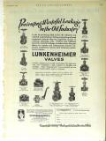 Lunkenheimer Company 1928 Vintage Ad Oil Preventing Wasteful Leakage