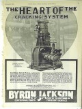 Byron Jackson Pump Mfg Company 1928 Vintage Ad Heart Cracking System