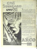 Arco Company 1928 Vintage Ad Oil Field Refinery Paints Varnishes