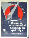 Axelson Machine Company 1928 Vintage Ad Oil No Economical Substitute