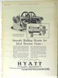 Hyatt Roller Bearing Company 1928 Vintage Ad Oil Ideal Reverse Gear