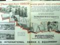 International Derrick Equipment Company 1928 Vintage Ad Easy Erection