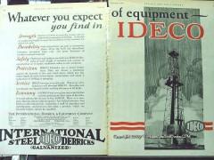International Derrick Equipment Company 1928 Vintage Ad Ideco Expect