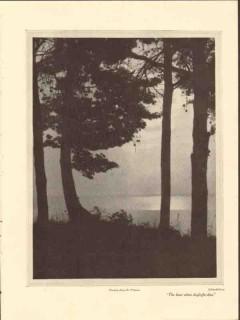 evening along the potomac 1928 harold gray photogravure print