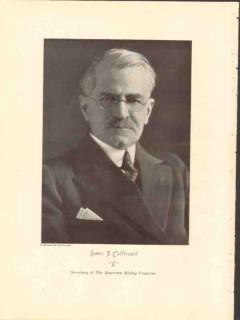 james f callbreath 1928 american mining congress photogravure
